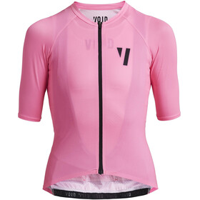 VOID Duct Maillot Manga Corta Mujer, hi-vis pink